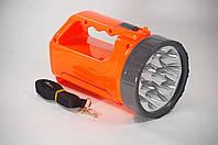 Перезаряжаемый Светодиодный LED Фонарь Klaus 4W (Синий цвет)