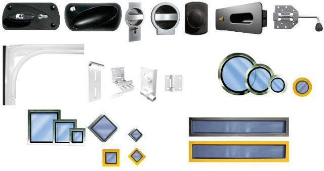 Стандартная комплектация и дополнительные опции ворот Ритерна