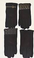 Мужские перчатки трикотажные на плюшевой подкладке