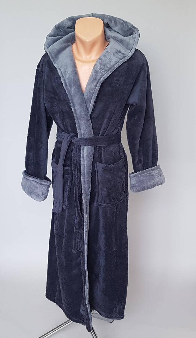 фотография махровый мужской халат