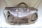 Кожаная сумка VS116 vintage brown 52х28х22 см, фото 2