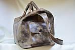 Кожаная сумка VS116 vintage brown 52х28х22 см, фото 4