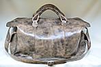 Кожаная сумка VS116 vintage brown 52х28х22 см, фото 3