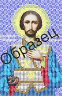 Схема для вышивки бисером 10,5*16,5см Св Апостол Степан З-146 Richelieu