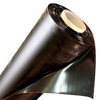 Пленка черная полиэтиленовая 100 мкм. (для мульчирования,строительная) 3 м рукав 6 м в развороте