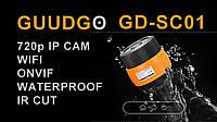 Наружная водозащищенная Wifi IP камера с режимом ночного видения и поддержкой карт памяти GUUDGO GD-SC01 720P , фото 1