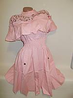 Платье женское молодёжное с коротким рукавом
