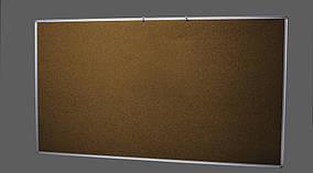 Пробковая информационная доска офисная. Размер 65х100 см.