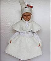 Детский карнавальный костюм для девочки Зайка№2, фото 1