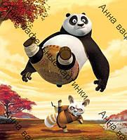 Вафельная картинка Панда Кунг Фу