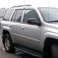COBRA TUNING Дефлекторы окон на Chevrolet TrailBlazer I '01-08 (накладные)