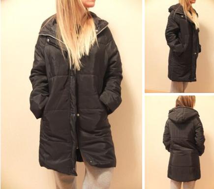 Женская осенняя длинная куртка