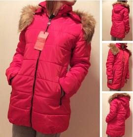 Женский стильный осенней зимний пуховик куртка