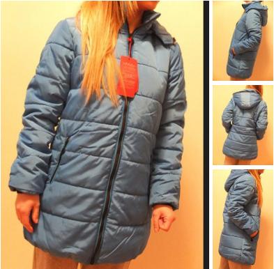 Женский стильный осенней зимний пуховик куртка, фото 2
