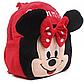 Плюшевый рюкзак для девочки Минни Маус, фото 2