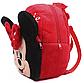 Плюшевый рюкзак для девочки Минни Маус, фото 3