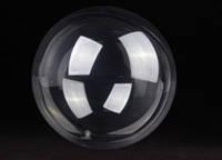 """Шар воздушный прозрачный круглый, 18"""", 45 см, в упаковке 3 шт."""