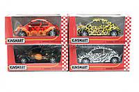 Машинка Kinsmart Wolkswagen new Beetle KT5062W - 4 цвета