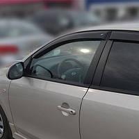 COBRA TUNING Дефлекторы окон на Hyundai i30 I '07-11 хэтчбек 5d (накладные)