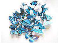 Бабочки для декора 3D, для дома, DIY на булавках для штор,стен