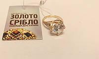 Золотое кольцо с камнем, женское. Вес 3,86 грамм. Размер 16,5.