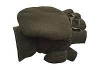 Перчатки-варежки флис (олива)
