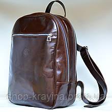 Рюкзак женский VS 118 brown 26х38х12см