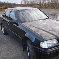 COBRA TUNING Дефлекторы окон на Mercedes-Benz C-Class (W202) '93-01 седан (накладные)