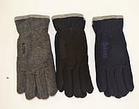Мужские перчатки флисовые двойные