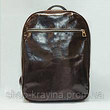 Рюкзак женский VS 118M brown scottish 26х38х12см