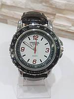 Наручные мужские часы c черным ремешком код 43