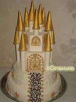 Свадебный торт с замком