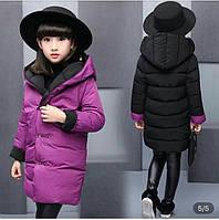Детская куртка для девочки 110-160