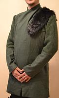 Уникальное зимнее пальто с мехом