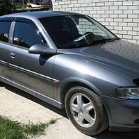 COBRA TUNING Дефлекторы окон на Opel Vectra B '95-02 седан (накладные)