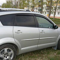 COBRA TUNING Дефлекторы окон на Pontiac Vibe I '02-08 (накладные)
