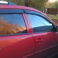 COBRA TUNING Дефлекторы окон на Pontiac Vibe II '09-10 (накладные)