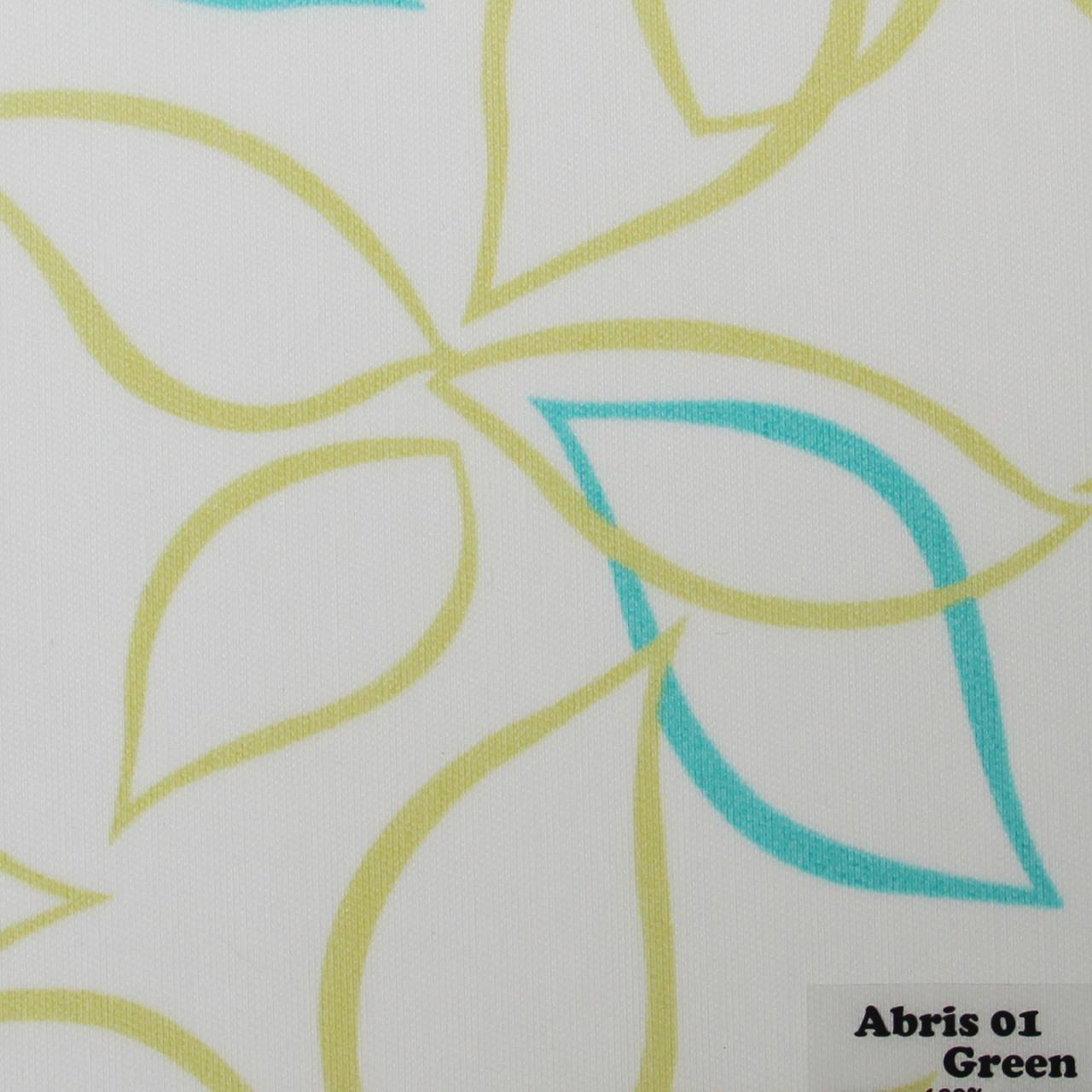 Рулонні штори Одеса Тканина Abris 01 Green
