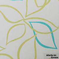 Рулонные шторы Одесса Ткань Abris 01 Green