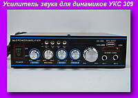 Усилитель звука для динамиков УКС 309,Усилитель звука AMP 309, звуковой усилитель