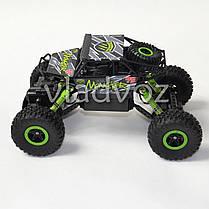 Джип на радио управлении машинка внедорожник модель Rock Crawler зелёный 1:18, фото 3