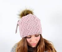Женская шапка зима