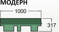 Премиум сбс-модифицированная черепица roofshield Модерн((  ( ( синий, голубой )