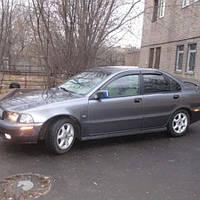 COBRA TUNING Дефлекторы окон на Volvo S40 I '96-04 седан (накладные)