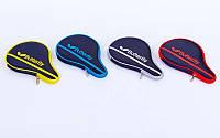 Чехол на ракетку для настольного тенниса BUTTERFLY NAKAMA (цвета в ассортименте,р-р 30х3х19см)