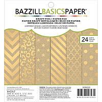 Набір паперу Kraft Foil by Bazzill Basics 6X6' 24Pkg