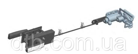 Ригельный замок RLG003 для секционных гаражных ворот ролет Alutech