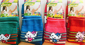 """Носки детские зимние махровые девочка """"ВиАтекс"""" размер 16(26-28), ассорти"""