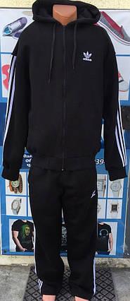 aa0fc63e Мужской зимний спортивный костюм Adidas батал 56р-62р реплика, ...