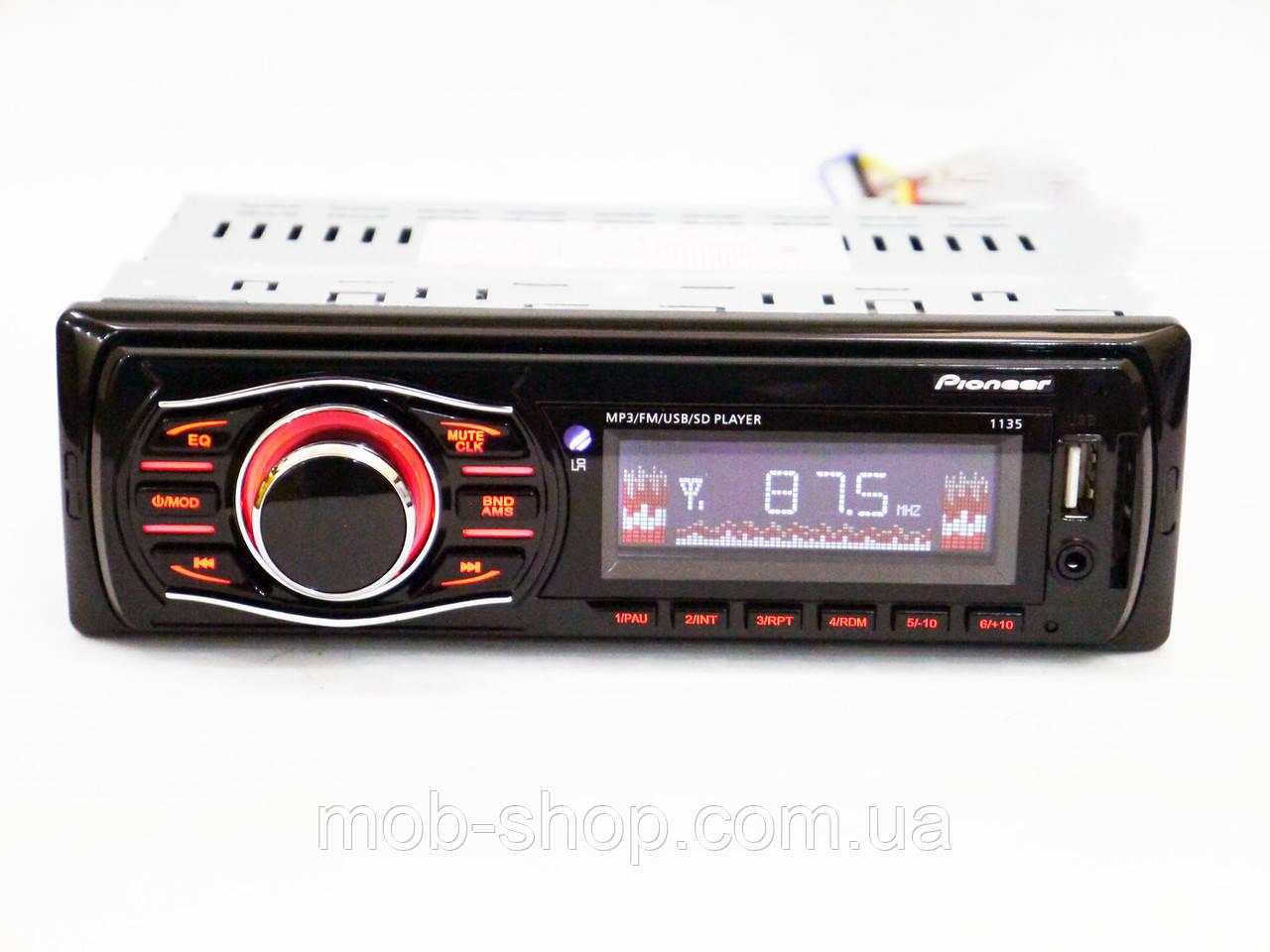 Автомагнитола пионер Pioneer 1135 MP3 USB AUX